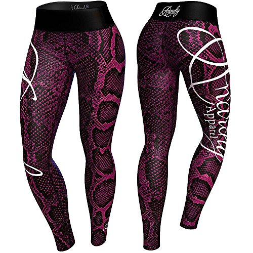 anarchy-apparel-leggings-boa-compression-pants-mma-fitness-gym-aerobic-grosse-m
