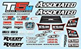 Team Associated ae71022 – rc10t5 m Decal Sheet, funzione Modellismo e accessori