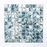 Fliesen Mosaik Mosaikfliese Muschel glänzend Küche Bad WC 2mm Neu #574