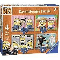 Minions - Puzzle 4 in 1 (Ravensburger 06895) - Peluches y Puzzles precios baratos