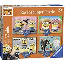 Ravensburger Despicable Me 3 - 4 In A Box Version Anglaise