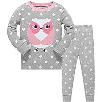 Justice 2-Piece Pajama Set Owl