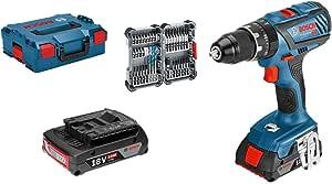Bosch Professional 18v System Akku Schlagbohrschrauber Gsb 18v 28 Max Drehmoment 63 Nm Inkl 35tlg Impact Zubehör Set 2x 2 0 Ah Akku In L Boxx 136 Amazon Edition Baumarkt