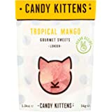 Candy Kittens Tropical Mango Vegan Sweets - Palm Oil Free, Natural Fruit Flavour Candy - Gummy Chewy Gourmet Sweets, 54g (Pop Bag)