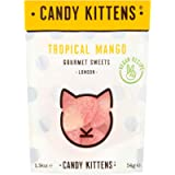 Candy Kittens Tropical Mango Vegan Sweets - Palm Oil Free, Natural Fruit Flavour Candy - Gummy Chewy Gourmet Sweets, 54g…