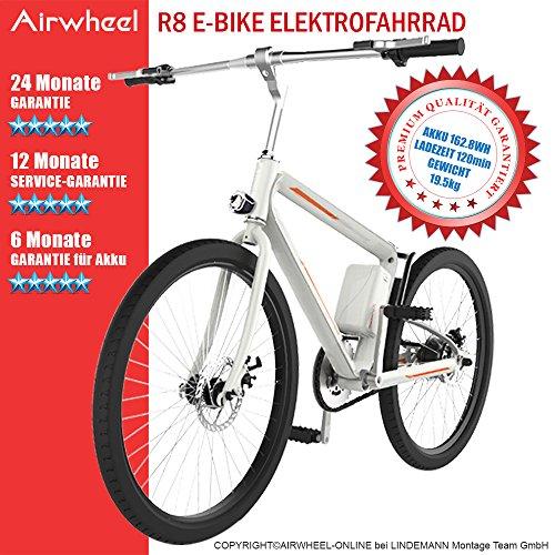 AIRWHEEL R8 E-Mountainbike Elektrofahrrad mit Motor E-MTB Bike Damen Herren schwarz weiß