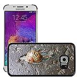 """Just Cover Hot Style-Custodia rigida per cellulare, a intermittenza lenta M00140063 lumache e chiocciole, motivo """"Animali/Natura"""", per Samsung Galaxy, S6 EDGE (non compatibile con S6)"""