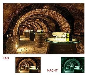 Startonight Glow In The Dark Canvas Picture Wine Casks 120