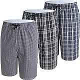 JINSHI Herren Baumwolle Schlafanzugshose Loungewear Freizeithose, Js008, X-Large(84-112cm)