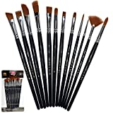 Best Paint Brush Sets - Paint Brushes 12 Pieces Set Professional Paint Brush Review