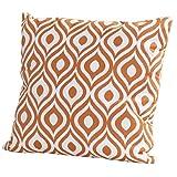 4Seasons Outdoor Dekokissen 50 x 50 cm mit Reißverschluss Pinamar Orange 212875