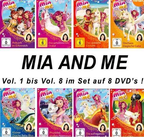 Vols. 1-8 (8 DVDs)