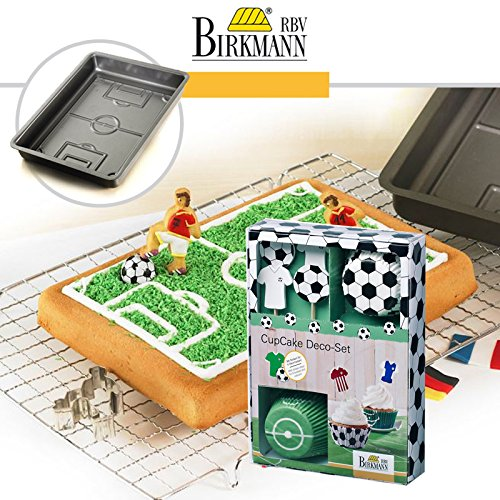 Price comparison product image RBV Birkmann Backform Game Mat and Cup Cake Decoration Set