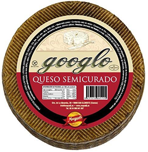 Queso Cremoso de La Mancha - Googlo Semicurado 3,200 KG