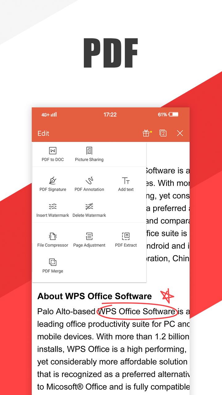 WPS Office - Word, Docs, PDF, Note, Slide & Sheet: Amazon