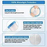Protege Platre Mains Adulte, Imperméable Protection Bras Platre pour Douche, Baignade, Pansement Doigt Poignet Protecteur, Fi