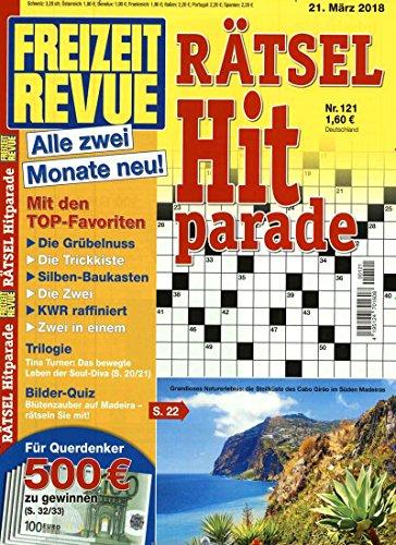 Freizeit Revue Rätsel Hitparade [Abonnement jeweils 6 Ausgaben jedes Jahr]