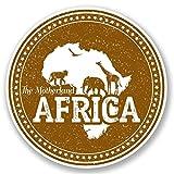 2 x 15cm/150 mm Afrique du Sud Auto-adhésif Autocollant Vinyle Autocollant pour portable Assurance voiture signer Fun #4799