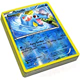 25 Shiny (Foil) Pokemon Trading Cards - Assorted Lot/Grabbag with No Duplicates