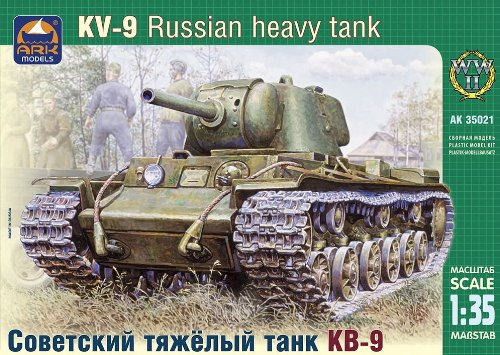 ARK Models AK35021 - Russian Heavy Tank KV-09