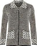 Search : Wearall Women's Plus Womens Long Sleeve Knitted Cardigan Ladies Zip Pocket Leopard Collar Jumper Jacket 16-26