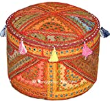 These are authentic styles Beautiful cushion studded with Heavy Embroidery, In this cover Vintage patches from old, valuable wedding saris & dresses are patched and stitched together at random to create a collage like effect and decorated with al...