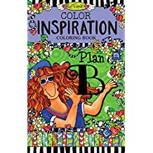 Color Inspiration Coloring Book (On-The-Go Coloring Book)