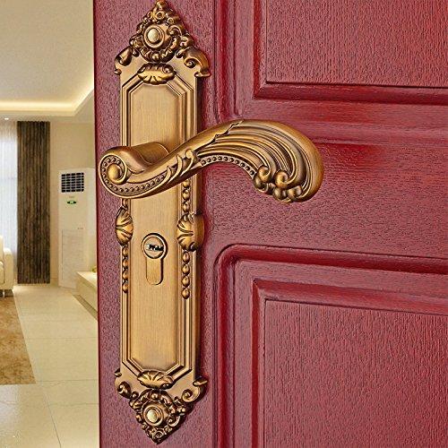 vanme antico European-Style interno porta in lega di zinco maniglia