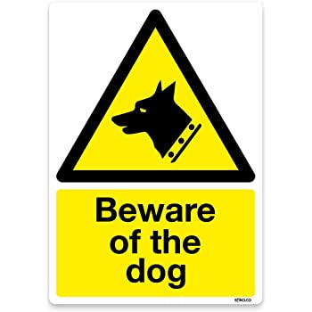 pst 148 Attention Dog Owners rusted metal sign