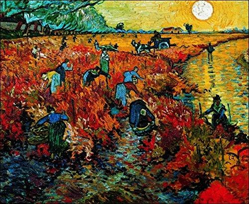van-gogh-la-vigne-rouge-stampa-artistica-in-offset-su-carta-gr-300-cm80x60