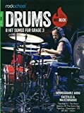 Scarica Libro Rockschool Hot Rock Drums Grade 3 Book Online Audio by Various 2016 02 18 (PDF,EPUB,MOBI) Online Italiano Gratis