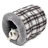 Pawz Road Tunnel Lit pour chien chat petit animal Sac de couchage Lit Cave Trou Tube Hello Kitty Sac