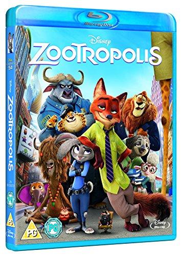 Zootropolis [Blu-ray] [2016]