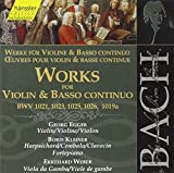 Bach: Works for Violin & Basso Continuo, BWV 1021, 1023, 1025, 1026, 1019a (Edition Bachakademie Vol 123) /Egger