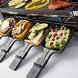 Ultratec RG1200 Raclette (1200 Watt, Duo 4 Gelenkgrill, Raclette-Grill für bis zu 8 Personen) - 6