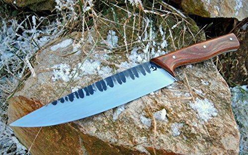 Küchenmesser aus Böhler Edelstahl N690, 100% Handarbeit