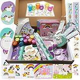 JuniorToys Einhorn-Party 100 Kleinspielwaren - Mitgebsel Tombola Schultütenfüller Einhorn-Mottoparty (Einhorn-Party)
