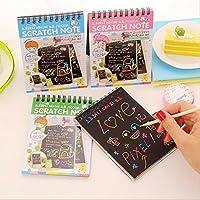 FUGL Children Mini Color Painting Graffiti Magic Scraping Books High Quality