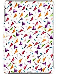 Kasemantra 3d Triangles Case For Apple iPad Mini