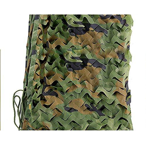 AJZXHE Schattennetz, Sonnensegel Gartenpflanzen Tarnnetz Net Net Dschungeltarnung Outdoor-Camping - Wasserdichte Plane (Farbe : Jungle Camouflage, größe : 3 * 5m)