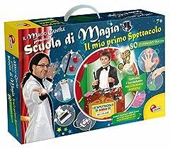 Idea Regalo - Lisciani Giochi Il Mago Gentile Scuola di Magia Il Mio Primo Spettacolo, 46409