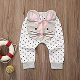 zooarts Baby Kinder Jungen Mädchen 3D Harem Hose Cat Formen Baby Lovely Hose 0?2Y, multi, 80 (7-12 Months)