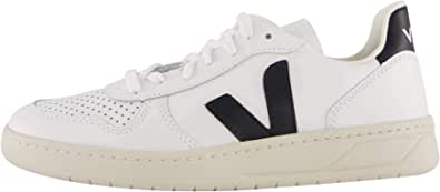 Veja V-10 Leather Extra-White Black W