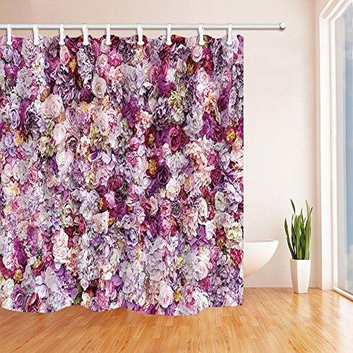 Chinesischer Drache Muster Print Dusche Vorhänge Polyester-167,6x 182,9cm-Badezimmer Vorhang Set mit Stufenmatten Teppiche 23,6x (Kostüm Fisch Eine In Schüssel)