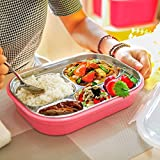 TQWMU Stainless Steel Lunch Box With Compartment/kids Meal Box/leakproof Bento Lunch Box Container