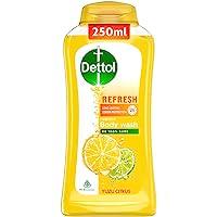 Dettol Body Wash and Shower Gel, Refresh - 250ml