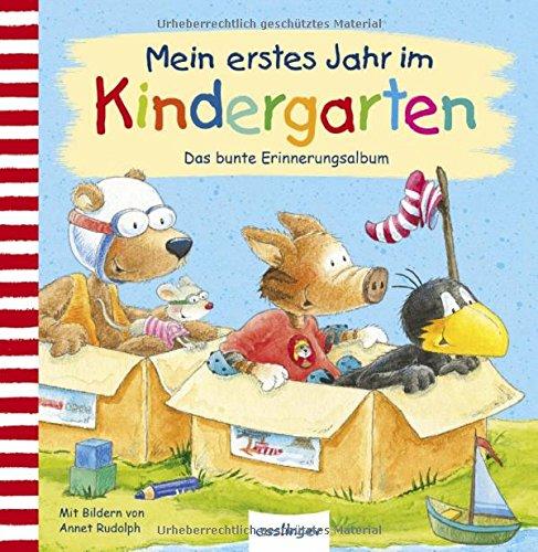 Der kleine Rabe Socke: Mein erstes Jahr im Kindergarten: Das bunte Erinnerungsalbum