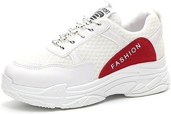 Turnschuhe Sportschuhe Damen Julywe Mode Frauen Freizeitschuhe Bequeme Sohlen Plateauschuhe Sportschuhe Schuhe Sneaker