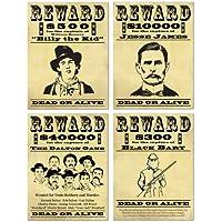 Manifesti ricompensa banditi