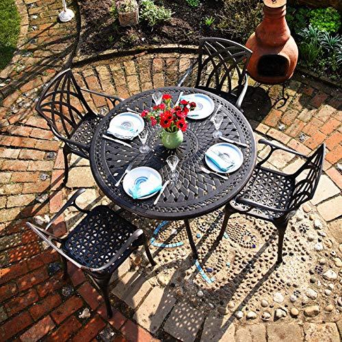 Lazy Susan - ALICE 120 cm Runder Gartentisch
